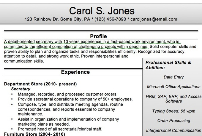 Cover Letter Examples For Bookkeeper