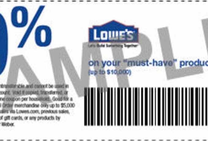 Lowes 10 percent off coupon june 2018