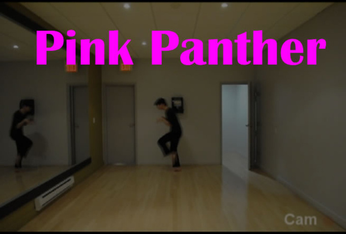 edit your message in my PINK panther dance