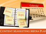 create an 8 week content marketing media schedule