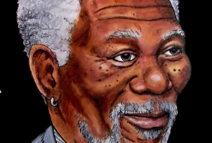 record a Morgan Freeman Voicemail greeting