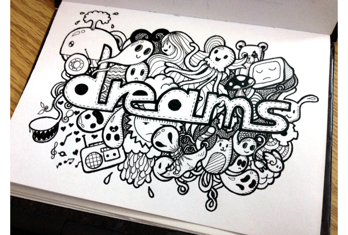 Names Of Line Drawing Artists : Doodling art name pixshark images galleries