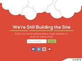 create a sleek responsive under construction page
