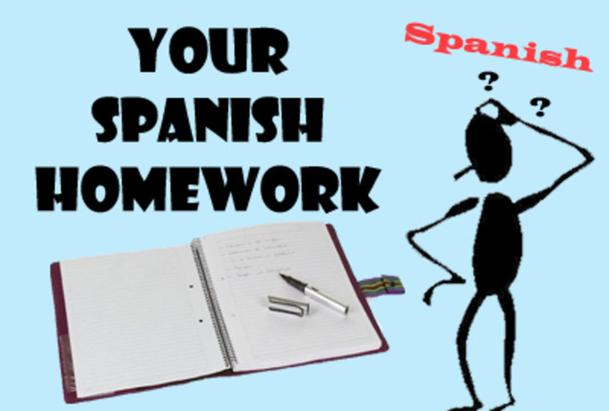 Help with spanish homework