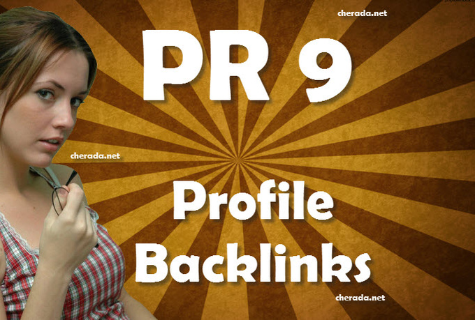create 10 Backlinks from PR9 Sites