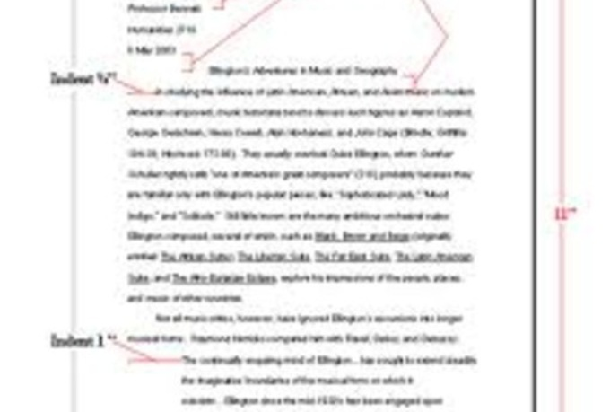 online essay outline template