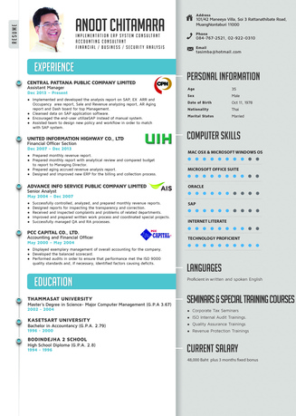 Give You An Eye Catching Design Resume Fiverr