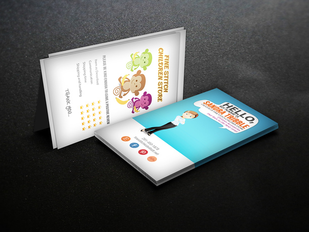 Character Design Business Card : Design a character business card fiverr