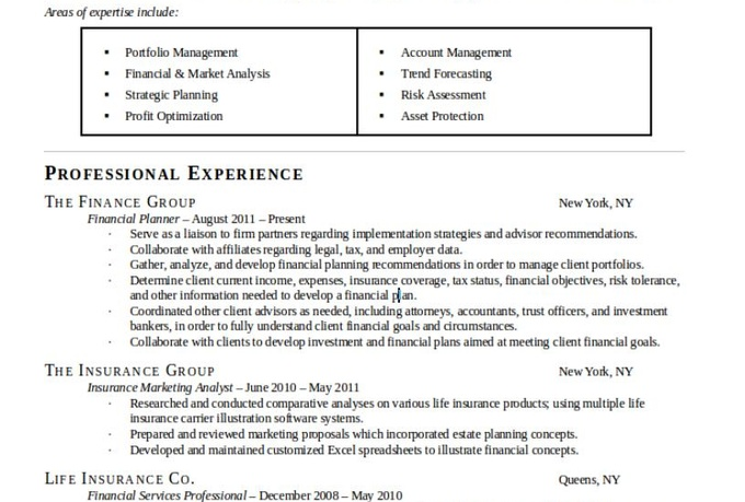Comparative market analysis cover letter