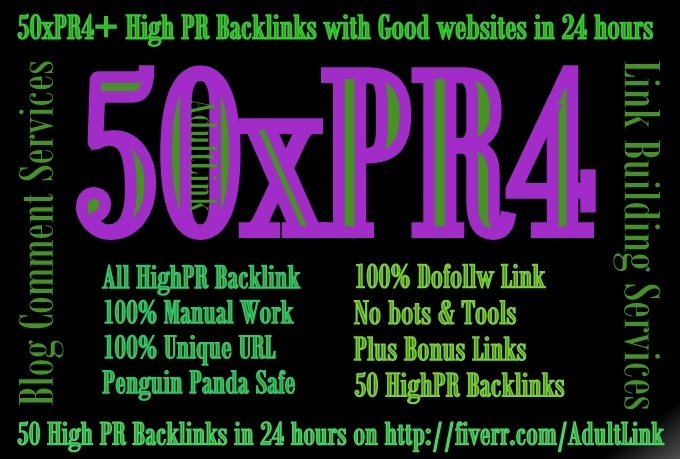 do High PR Blog Commenting 50PR4 DoFollow Backlink on unique domains in 48 hours