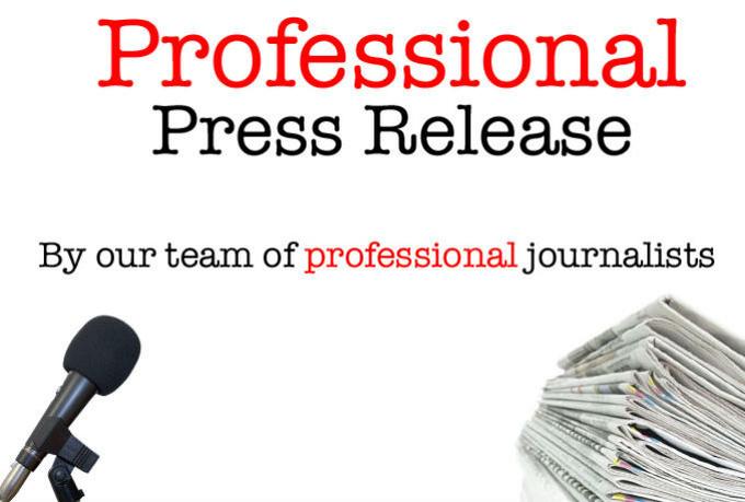 press release writing newswire service