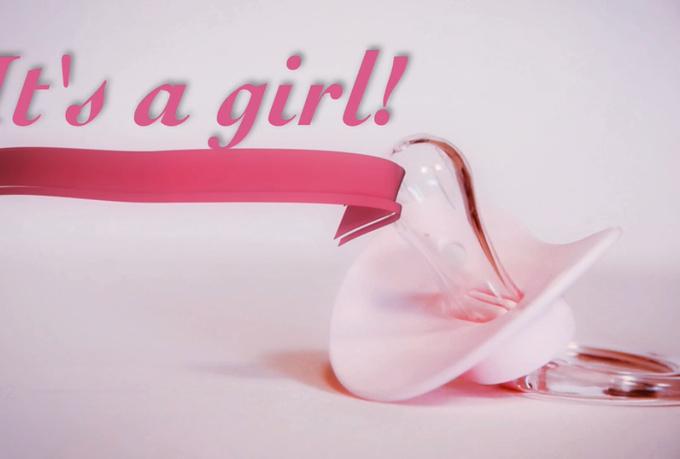 Baby Girl Animation Create a new born baby girl